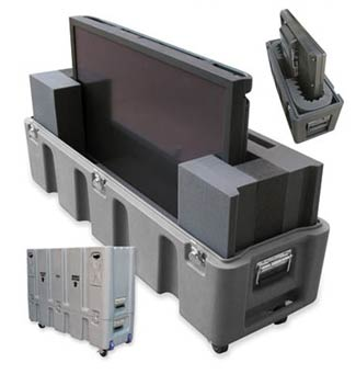 Custom designed for plasma and flat screen displays and monitors