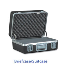Briefcase shaped cases