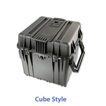 Cube shaped cases