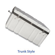 Trunk shaped cases