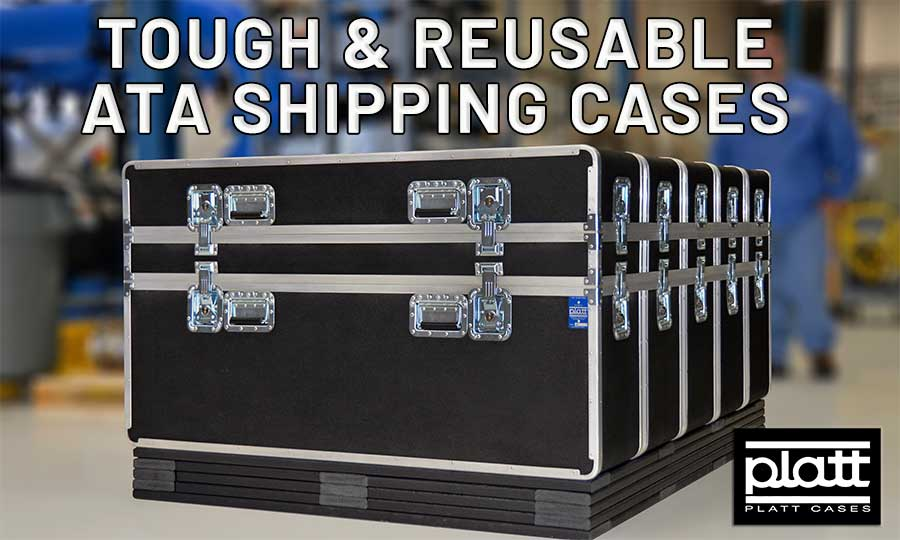 Reusable ATA Shipping Cases