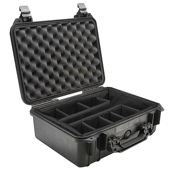 65145D Pelican 1450 Case with Padded Divider