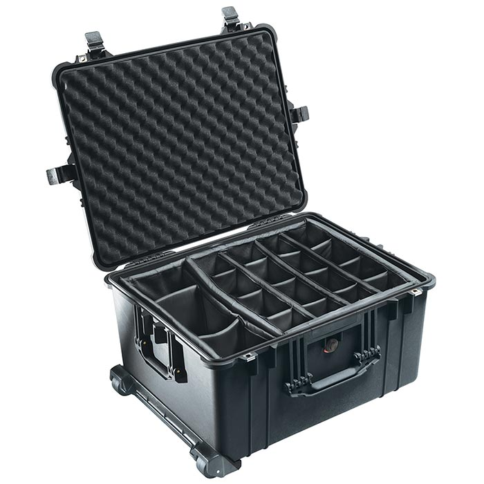 65162D Pelican 1620 Wheeled Case with Divider