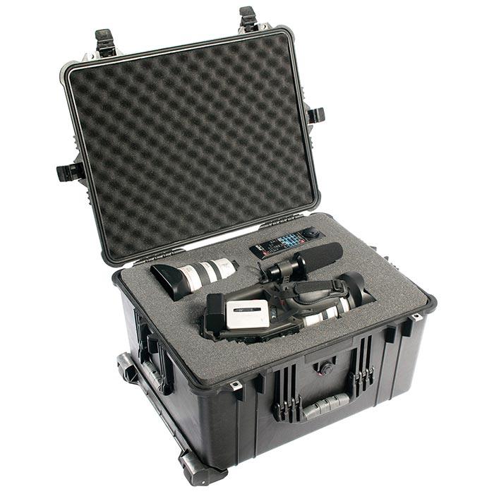 65162 Pelican 1620 Wheeled Case 22x17x12 - Foam Filled