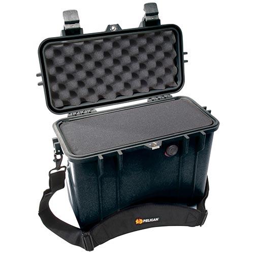 65143 Pelican 1430 Case 13.5x5.5x11.5 - Foam Filled