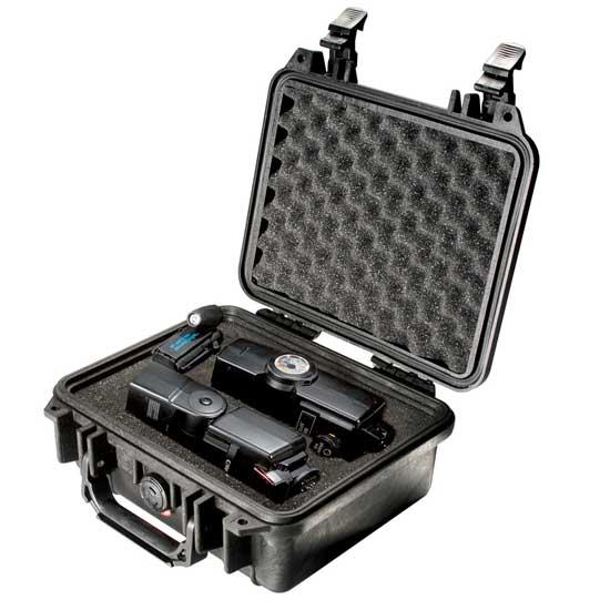65120 Pelican 1200 Case 9.5 x 7 x 4 - Foam Filled