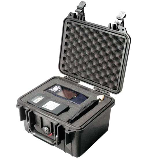 65130 Pelican 1300 Case 9.5x7x6 - Foam Filled