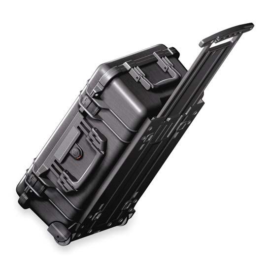 65151 Pelican 1510 Wheeled Case 20x11x7 - Foam Filled
