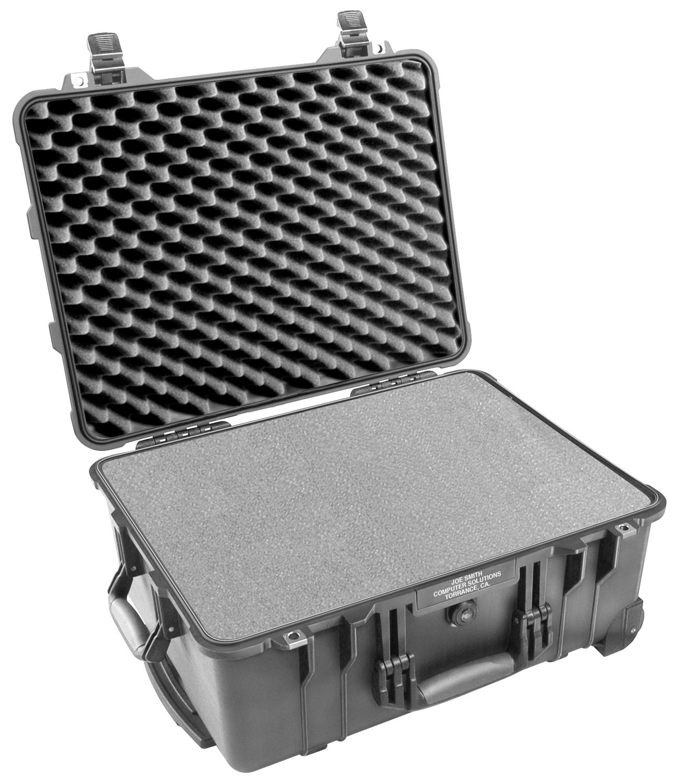 65156 Pelican 1560 Wheeled Case 20x15x9 - Foam Filled