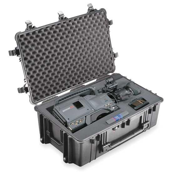 65165 Pelican 1650 Wheeled Case 29x18x10 - Foam Filled