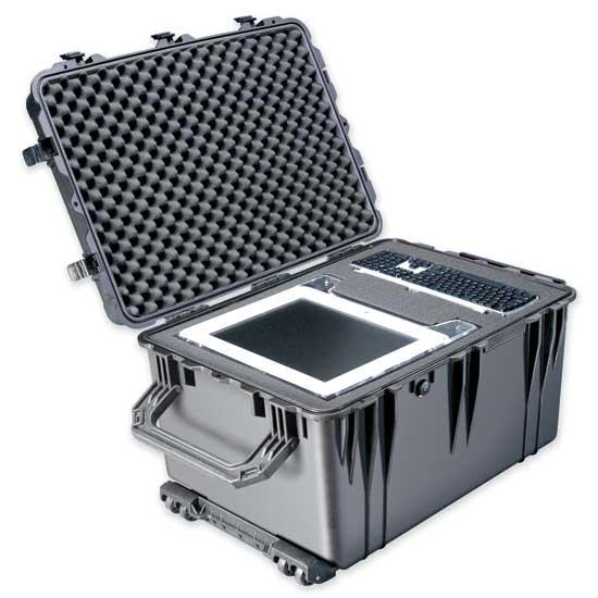 65166 Pelican 1660 Wheeled Case 29x20x17 - Foam Filled