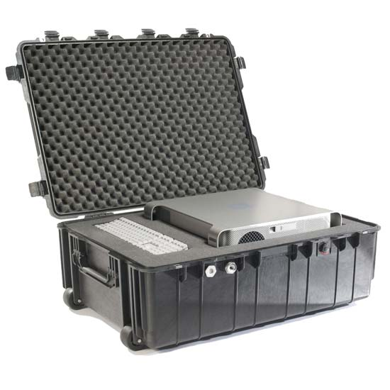 65173 Pelican 1730 Wheeled Case 34x24x12 - Foam Filled