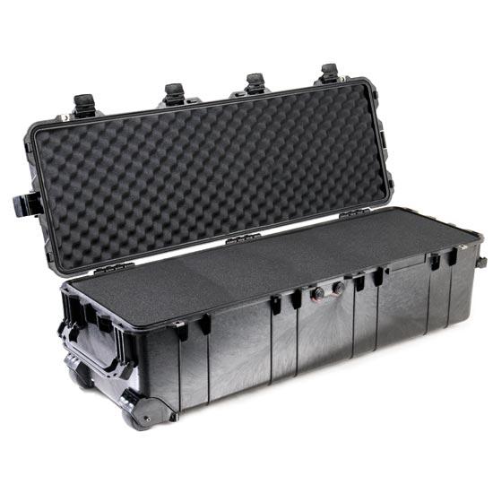65174 Pelican 1740 Wheeled Case 41x13x12 - Foam Filled