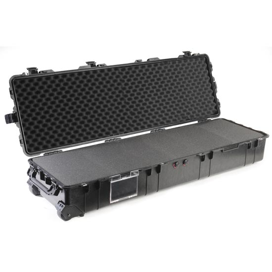 65177 Pelican 1770 Wheeled Case 54x15x8 - Foam Filled
