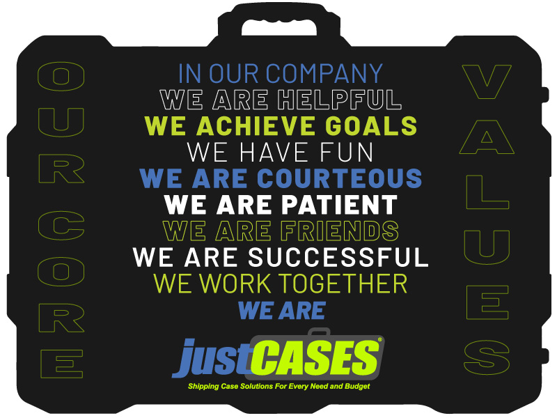 justCASES COre Values