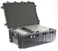 Pelican Shipping Cases with wheels