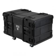 Rack-mount and shock-mount cases