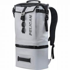 91000G Pelican Dayventure Soft Sided Gray 19Q Backpack Cooler