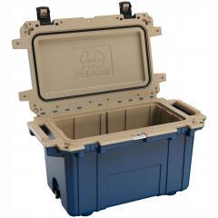 91070QB Pelican Elite 70Q Blue/Tan Cooler