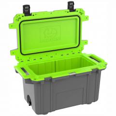 91070QG Pelican Elite 70Q Grey/Green Cooler