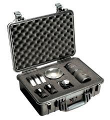 65150 Pelican 1500 Case 17x11.5x6 - Foam Filled