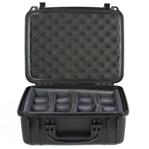 66248 Seahorse SE520 Case 13x9x6 with Padded Dividers