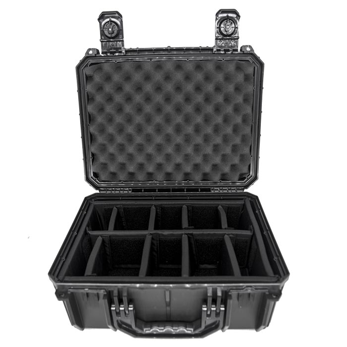 66254D Seahorse SE630 16x11x6 Case with Padded Divider