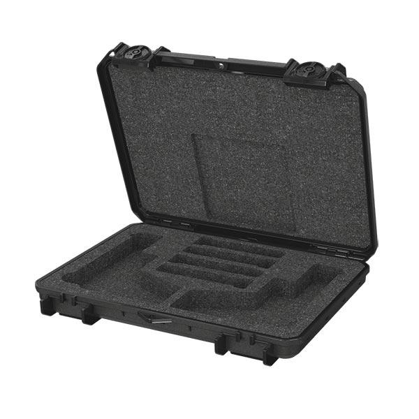 66259FP-B Seahorse 85FP2 Two Gun Black Micro Case 13x9x2