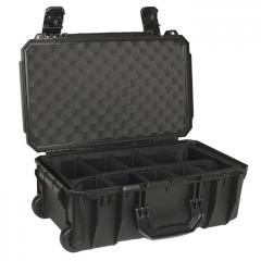 66255D Seahorse SE830 Wheeled Case 19x11x7 with Padded Divider