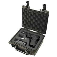 Seahorse SE300 FP1 Black Pistol Case 9x7x4 - Foam Filled