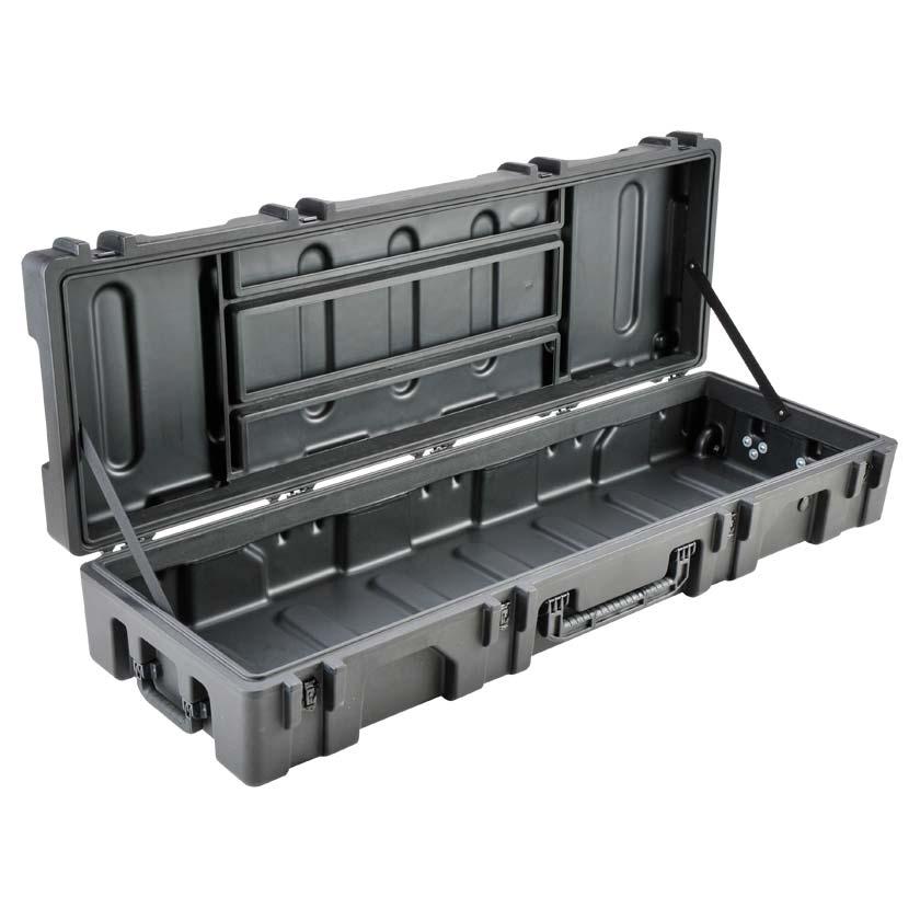 75629E SKB Mil Standard Wheeled Case 62x18x10 - NO FOAM