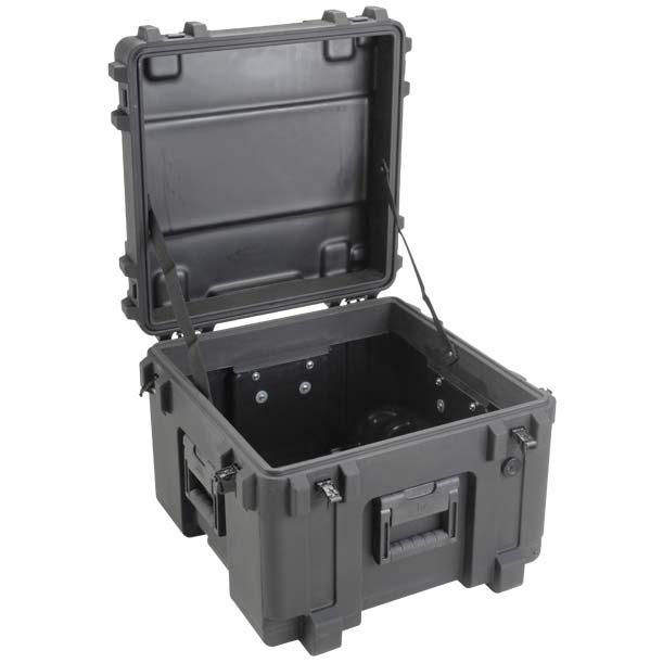 75631EW SKB Mil Standard Wheeled Case 19x19x14 - NO FOAM